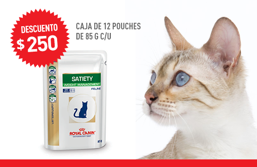 Imagen promoción Satiety Feline Húmedo